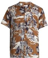 Etro Gazebo-print Linen Shirt