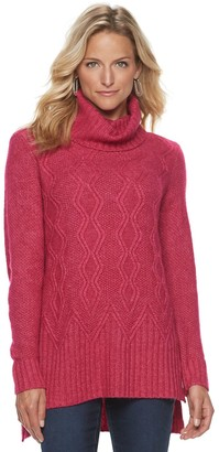 Women's SONOMA Goods for Life Cable-knit Cowl Sweater