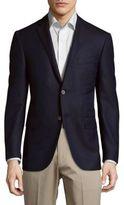 Corneliani Notch Lapel Virgin Wool Sportcoat