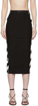 Off-White Off White Black Diag Athletic Skirt