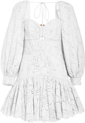 Acler Albion Cotton Mini Dress