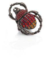 Tateossian Embellsihed Scarab Pin