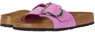 Birkenstock Madrid Big Buckle (Old Rose Nubuck) Women's Sandals