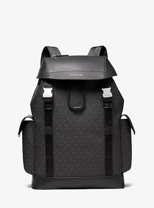Michael Kors Greyson Logo Backpack - Black