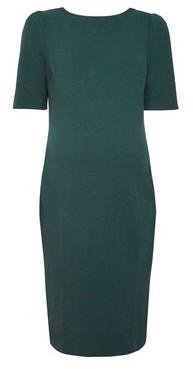 Dorothy Perkins Womens **Maternity Green Textured Bodycon Dress, Green