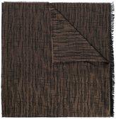 Lanvin etched pattern scarf