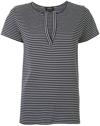 A.P.C. Morocco striped T-shirt