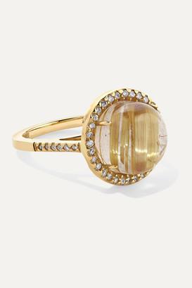 Kimberly Mcdonald McDonald - 18-karat Gold, Quartz And Diamond Ring - 5