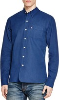 Levi's Sunset Selvedge Denim Slim Fit Button Down Shirt