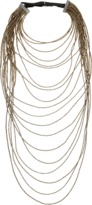 Brunello Cucinelli Long Monili Waterfall Necklace