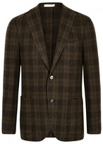 Boglioli Checked Wool Blend Jacket