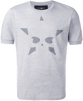 Hydrogen skull print T-shirt - men - Cotton - S