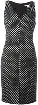 Diane von Furstenberg polka dot print dress - women - Cotton/Polyester/Spandex/Elastane - 4