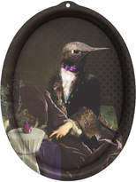 Ibride Galerie De Portraits - Oval Tray - Honore
