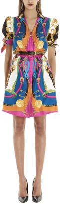 Versace Barocco Rodeo Dress