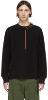 Craig Green SSENSE Exclusive Black Laced Sweatshirt
