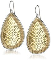 Anna Beck Designs Gili 18k Gold-Plated Wire-Rimmed Drop Earrings