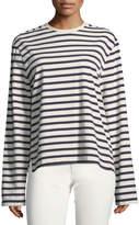 Joseph Striped Long-Sleeve Breton T-Shirt