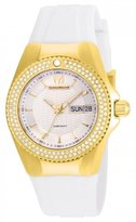 Technomarine Women's Cruise Diamond 34mm Silicone Band Quartz Watch Tm-115237