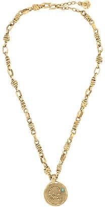 Goossens Talisman Scorpio medal necklace