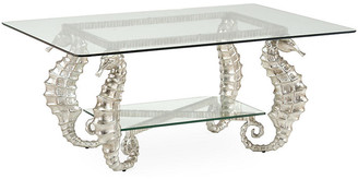Chelsea House Seahorse Coffee Table - Silver
