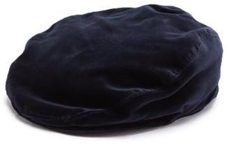 Dolce & Gabbana Cotton-velvet Flat Cap - Blue
