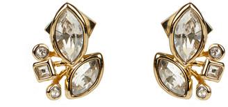 Alexis Bittar Navette Crystal Cluster Stud Earring