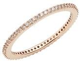 Nadri Women's Skinny Cubic Zirconia Pave Band Ring