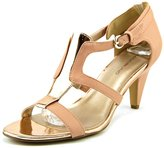 Bandolino Dacia Women US 7.5 Pink Peep Toe Sandals