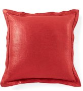 Southern Living Holiday Lux Collection Foiled Linen & Velvet Square Pillow