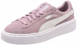 Puma Women's Suede Platform Low-Top Sneakers