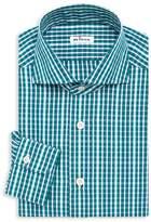 Kiton Contemporary-Fit Check Dress Shirt
