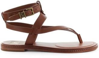 Michael Kors Pearson Brown Thong Sandal