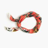 J.Crew Italian silk square scarf in Ratti® fruity floral print
