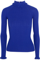 Erdem Atena Ribbed Merino Wool Sweater