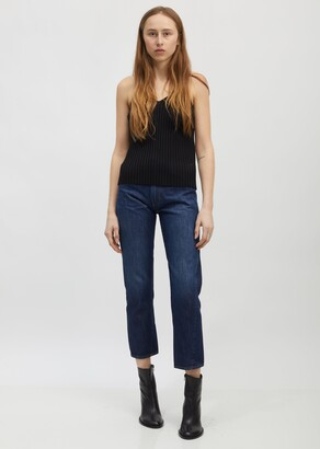 Totême Dark Blue Wash Original Jeans - 32""