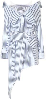 Alexander Wang Asymmetric Layered-Effect Shirt Dress