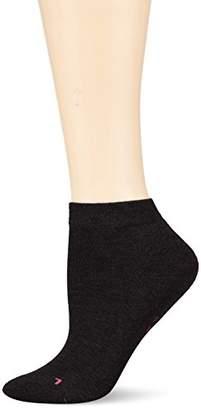 Hudson Women's AIR Plush Ankle Socks, 100 DEN,6 to 8