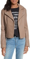 Rebecca Minkoff Women's Wolf Leather Moto Jacket