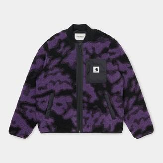 Carhartt Purple Blur Camo Janet Liner Women Jacket - XS   purple - Purple/Purple