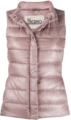 Herno Padded Zip-Up Gilet