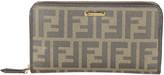 Fendi Leather Zip-Around Wallet