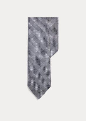 Ralph Lauren Gingham Silk Narrow Tie