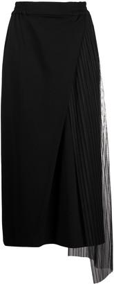 stagni 47 Pleated Panel Maxi Skirt