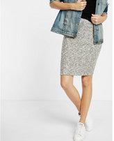 Express cozy marled ribbed pencil skirt