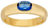 Elizabeth Taylor The Simulated Sapphire Stack Gem Ring