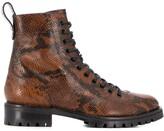 Jimmy Choo Cruz lace-up boots