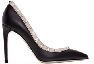 Valentino Black Garavani Rockstud Heels