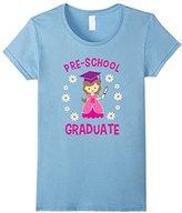 Kids Preschool Graduate Graduation Pre-K Gift T-Shirt Girls