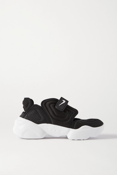 Nike Aqua Rift Neoprene And Mesh Sneakers - Black